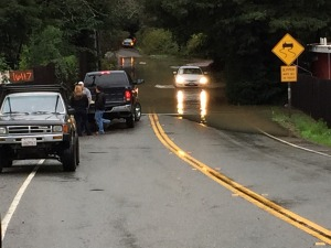 Some ignore warnings to avoid driving through flooded areas. Friday, December 12th 2014