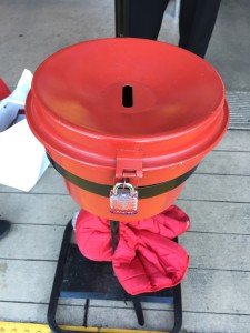 The effects of August's earthquake that hit Napa are still being felt today -- donations to the Salvation Army's red kettles are down more than $30,000 compared to the same time last year.