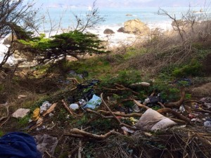 Trash at historic National Park upsets locals - prompting action from Park Officials. Friday, January 30th, 2015