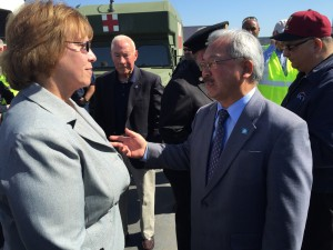 Mayor Ed Lee holds press briefing to launch Fleet Week 2015 - PG&E Director of Preparedness & Response Support