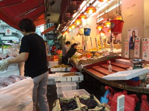 """Mong Kok District - """"busy corner"""" in Cantonese. One of the most densely populated places on Earth."""