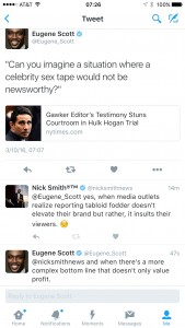 Twitter Exchange w/Eugene Scott