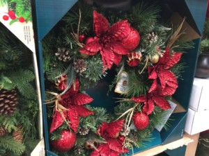 "32"" Decorated LED Wreath. Dual Color - Battery Operated $39.99"