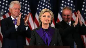 Hillary Clinton publicly conceded the election to Donald J. Trump on Wednesday, acknowledging the pain of the defeat in remarks in New York while calling on her supporters to accept that he would be president and give him a chance to lead with an open mind.